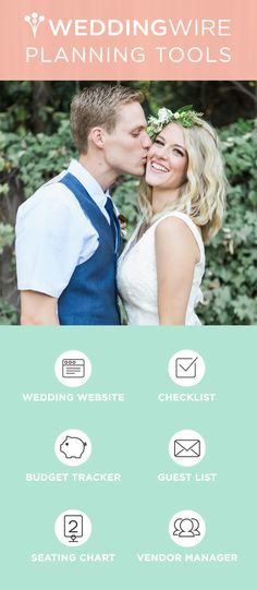 Planning a wedding doesn't have to be stressful. Sign up for these free wedding planning tools & get started!