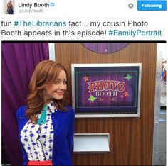 Lindy Booth. [twitter]