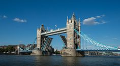 London Fine Art Photo: Tower Bridge OPEN The by LongExposureLondon
