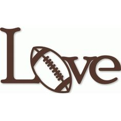 Welcome to the Silhouette Design Store, your source for craft machine cut files, fonts, SVGs, and other digital content for use with the Silhouette CAMEO® and other electronic cutting machines. Vinyl Crafts, Vinyl Projects, Wooden Crafts, Wooden Toys, Silhouette Cameo Projects, Silhouette Design, Football Love, Football Outline, Football Heart