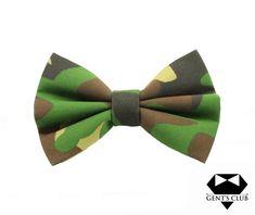 Gent's Club Bowtie Army #bowtie #gentsclub #fashion #gentlemanstyle #style #accessories