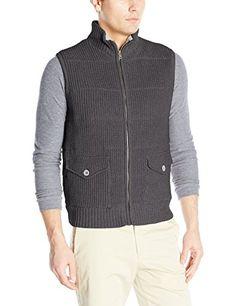 Blizzard Bay Men's Full Zip Quiled Shaker Stitch Vest - http://www.darrenblogs.com/2017/01/blizzard-bay-mens-full-zip-quiled-shaker-stitch-vest/