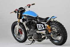 'XLST3' from Shaw Speed & Custom. SS is the custom workshop of an East Sussex Harley dealer.
