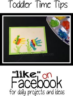 Daily projects and activities posted on Toddler Time Tips @ https://www.facebook.com/toddlertimetips