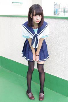 School Girl Outfit, Girl Outfits, Cute Asian Girls, Knee Socks, School Uniform, Cosplay, Poses, Legs, Disney Princess