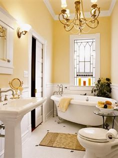 Hang vintage window frame inside bathroom window to give privacy with character without sacrificing energy efficiency or security.