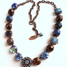 Swarovski crystal choker, LADY of the NILE, Made with CRYSTALLIZED™ - Swarovski Elements, better than sabika