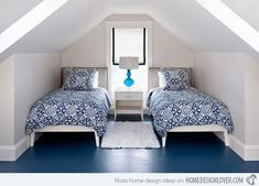 15 Charismatic Sloped Ceiling Bedrooms