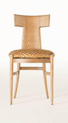 Rubelli Casa - chaise Moeca - bois et tissu - Rubelli Casa - www.rubelli.com/