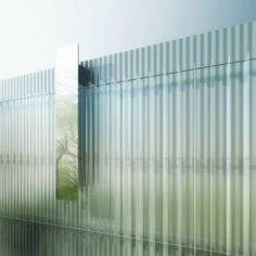 Corning Museum of Glass North Wing Unveiled / Thomas Phifer and Partners    Probably in love with this.