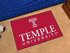 All Star Mat - Temple University Owls Script Logo