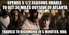 What drove me nuts? Rick's a damn cop! You'd think he'd have known where the prisons are in GA.