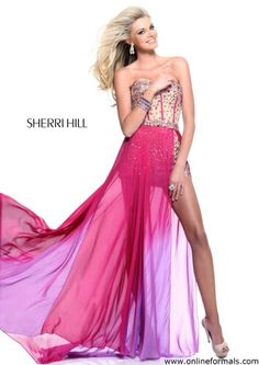 Sherri hill romper prom dress