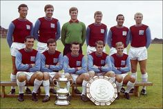 West Ham's 1964 FA Cup and Charity Shield winners