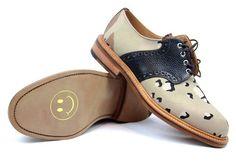 Fancy - Desert Camo Saddle Shoe by Mark McNairy