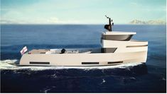 Explore NAUCRATES 88 yacht for sale; through beautiful photos and a full walk-through description of this impressive Ocean King Expedition Yacht. Expedition Yachts, Explorer Yacht, Camper Boat, Yacht For Sale, Yacht Design, Rock Outfits, Exterior Design, Sailing, The Incredibles
