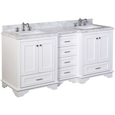 nantucket 72inch bathroom vanity includes white - 72 Inch Bathroom Vanity