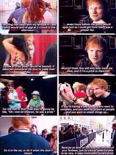 Excuse the language. I love Ed, sometimes though what he said at the end is reversed.