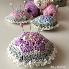 Purple-crochet-pin-cushion-by-BautaWitch