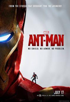 Ant Man Poster Iron Man Ant Man Marketing Starts Taking Advantage of The Avengers