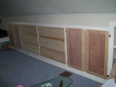 Attic Master Bedroom Built Ins Updated