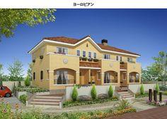 太陽光木造賃貸エコ住宅 リマーレ・ココロ-アパート建築の生和