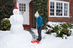 Snow shoveling tips to help prevent back injuries.