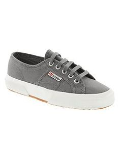 Just bought myself a white pair of Palladiums, which I like more, but still, these are cute. I like the dark grey here.
