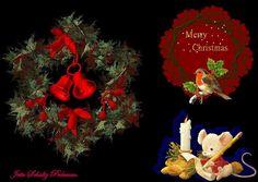 jul  Colage lavet af Jette Schultz Pedersen  ag billeder jeg har samlet i årenes løb selv taget med Camera og fra nettet