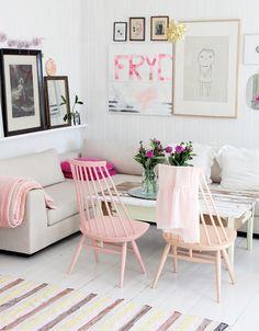 Mooie stoelen en tafel