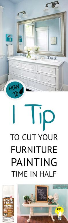 Love painting but not the time it requires?  Check out this one tip to save you time and money, to cut your painting time in half!