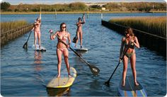 would like to try paddle boarding.
