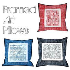 Moda Bake Shop: Framed Art Pillows