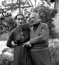 Picasso & Francoise Gilot. So stylish.