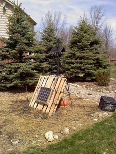 ..home built solar power system..