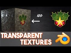 How to put transparent images on to textures (UV mapping) || Blender: Beginner to Better - YouTube