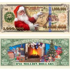 Million Dollar Bill-New