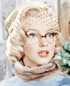 Marilyn Monroe rocked the Cat Eye frame in How to Marry a Millionaire in 1953