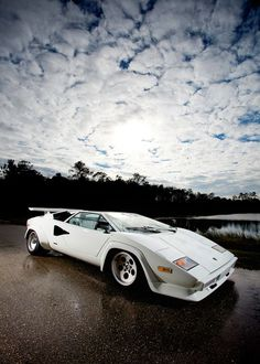 Lamborghini Countach. Still my favorite car, from the original 1974 to the last in 1990.