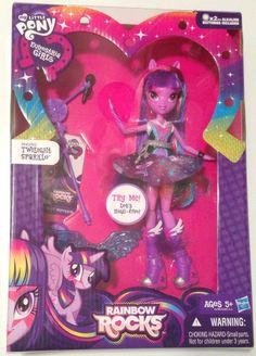 My Little Pony Equestria Girls Rainbow Rocks Singing Twilight Sparkle Doll Rock #Hasbro