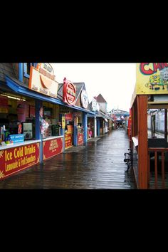 Old Orchard beach, Maine Love this place! Memories!! <3
