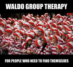 Waldo group therapy for people who need to find themselves