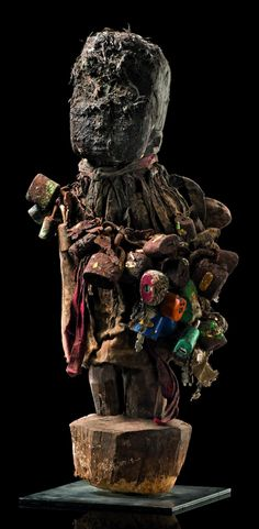 "Africa | Vodun ""bochio"" from the Fon people of Benin 