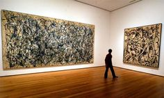 One of my best (inanimate) friends is a Pollack painting at the IU Art Museum. Jackson Pollock paintings at the Museum of Modern Art, New York Action Painting, Drip Painting, Museum Of Modern Art, Art Museum, Wyoming, Abstract Expressionism, Abstract Art, Jackson Pollock Art, Pollock Paintings