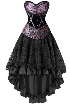 We've mixed and matched our Atomic Two Piece Victorian Inspired Corset and Skirt just for you! https://atomicjaneclothing.com/products/atomic-two-piece-victorian-inspired-lavender-corset-and-skirt