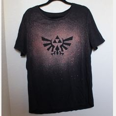 Zelda XXL Woman's Shirt This is a Zelda shirt that I made myself. It was previously reserved but I'm not opposed to selling it to someone else now. It was handmade by me. It is in a Women's size XXL. If you have any other questions, please just leave it in the comments. No Trades  Faded Glory Tops Tees - Short Sleeve