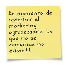 ¿ cuando vas a pensar en el marketing agropecuario de tu empresa ?