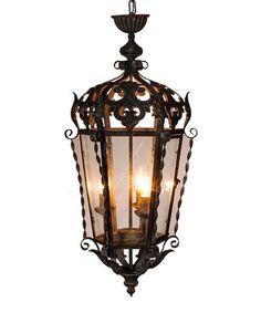 Look what I found on #zulily! Ornate Metal Electrical Lantern #zulilyfinds