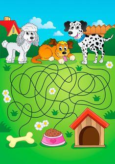 25 Super laberintos infantiles a todo color para los mas peques -Orientacion Andujar
