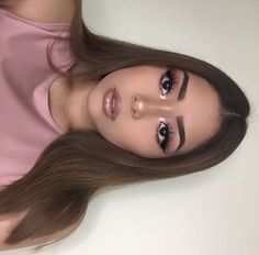 34 Ideas tattoo simple nature eye makeup for 2019 Prom Makeup Looks, Cute Makeup, Pretty Makeup, Simple Makeup, Natural Makeup, Pink Makeup, Glam Makeup, Makeup Tips, Beauty Makeup